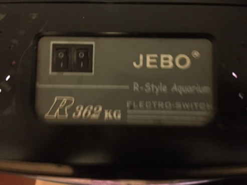 Jebo R362 Fish tank including stand