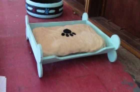 dog bed made