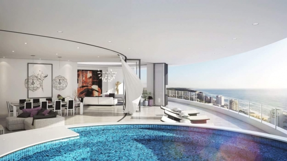 Oceans umhlanga Offplan sales Studio back from developer! Penthouses still for Sale