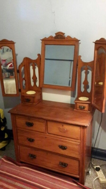 Dressing Table and Wardrope