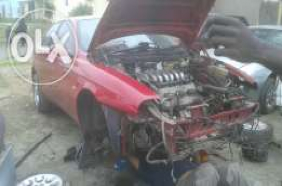 All your Alfa Romeo Spares  Now Available under one roof NOW stripping in large numbers  ALFA ROMEO