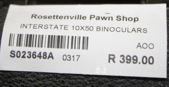 Interstate Binoculars S023648A #Rosettenvillepawnshop