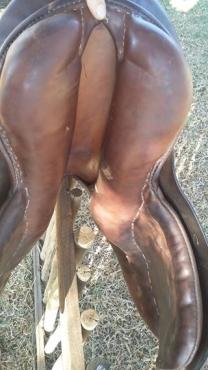 Brown Stubben GP saddle for sale