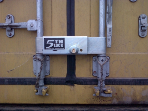 Container locks, Cargo door locks,Truck security