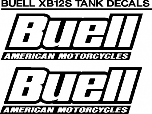 Buell racing decals stickers graphics sets