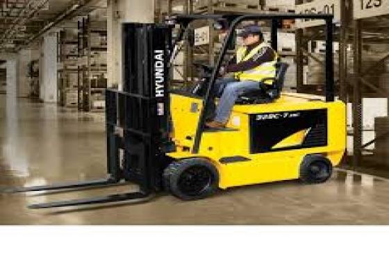 forklift, tlb dump truck training