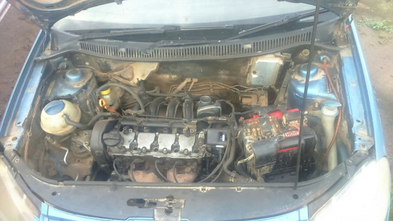 VW Polo 2006 Model with BAH Engine Stripping for Spares
