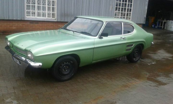 Ford Capri 1600 Junk Mail