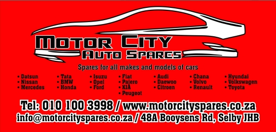 MOTORCITY TOYOTA SPARES  FOR SALE