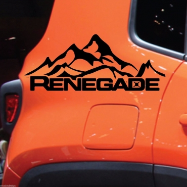 Graphics decals sticker kit for a 21014 Jeep Renegade