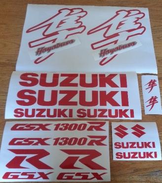 Suzuki Hayabusa decals stickers graphics kits