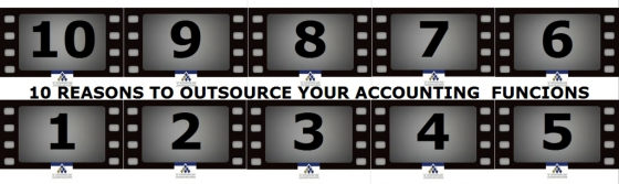 10 REASONS TO OUTSOURCE YOUR ACCOUNTING  FUNCIONS