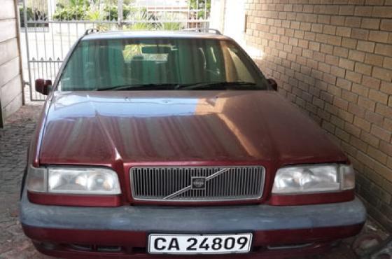 Volvo 850 automatic station wagon, auto sunroof, metallic red, 1996, 246000 km