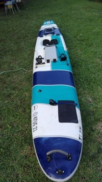 Kayak with 3 rod holders