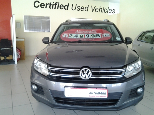 VW Tiguan 1.4 TSI BLUEMOTION Trendline - 2014