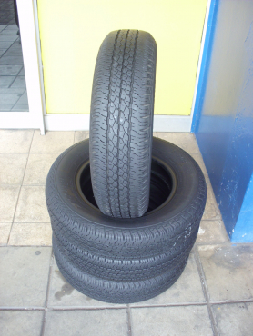 SECONDHAND TYRES 60%-80%TREAD