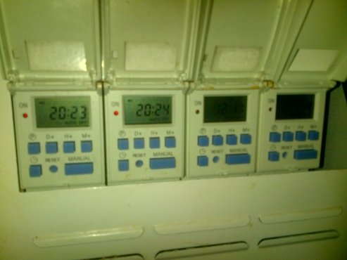 toptronic tdd7 timers in metal circuit breaker box