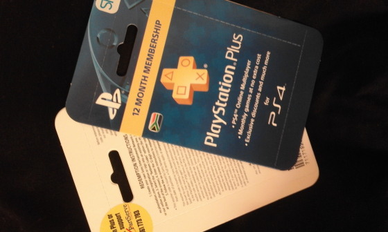 PlayStation PLUS Network Vouchers 365 day Membership | Junk Mail