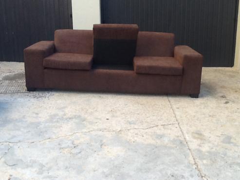 new dark brown 2 piece lounge set