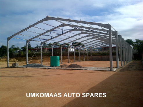 COMPLETE STEEL STRUCTURES FOR WAREHOUSING