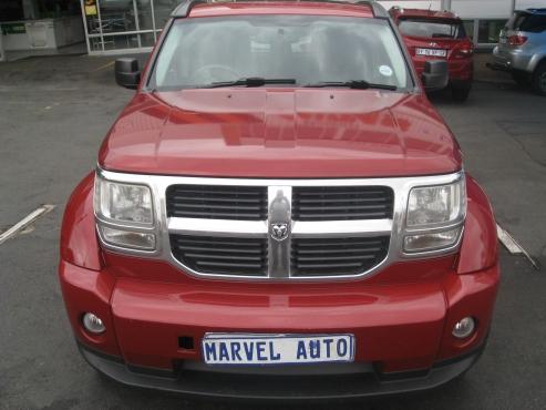 2007 Auto Dodge Nitro 2.8 Crd Sxt For R95000