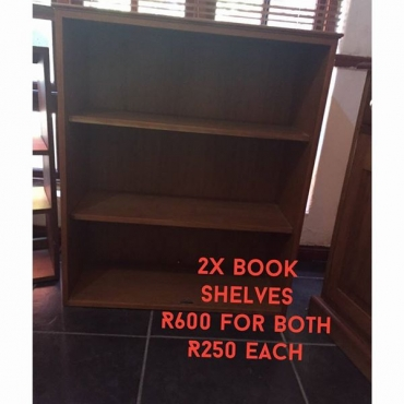 Book Shelves for sale.