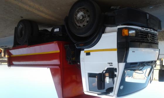 Tata 6m3 tipper truck