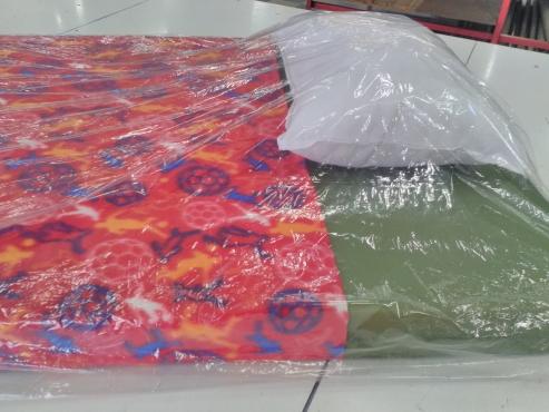 Mattress, Pillow and Blanket