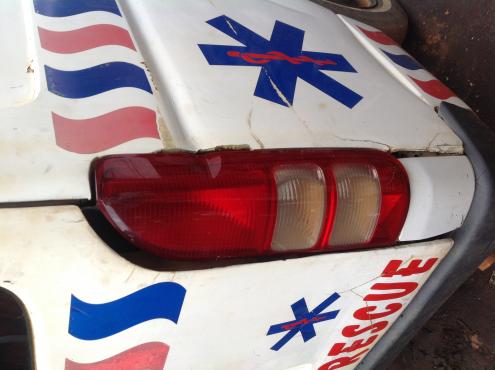 Stripping Toyota Quantam 2006 for Spares
