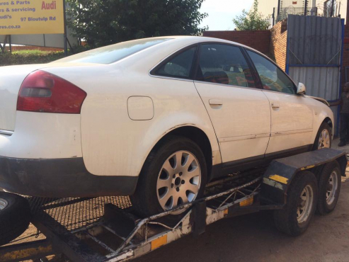 AUDI A4,A6  2.4,2.8 TRIPTRONIC STRIPPING FOR SPARES