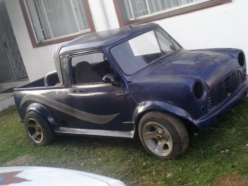 Beach Buggy Vw >> Classic mini bakkie for sale - unfinished project | Junk Mail