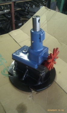 Internal taper attachment for boring mill.
