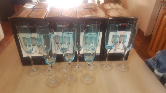 Champaigne glasses for sale