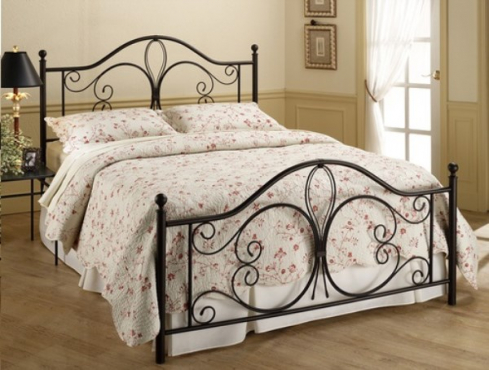 romantic wrought and iron beds beautiful eflyg bed awesome black