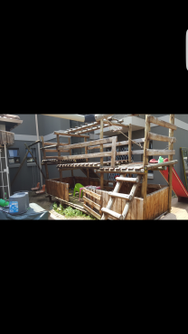 Jungle gym Large wooden