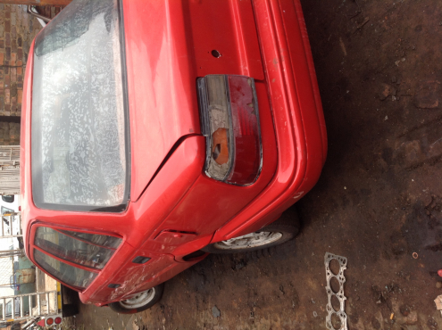 Stripping Toyota Corolla EE92 1991 for Spares