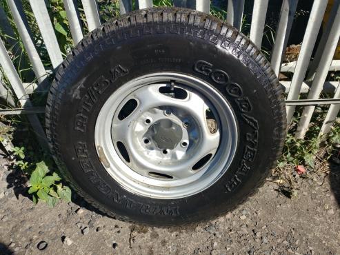 Tyres n Rims for Ford Ranger