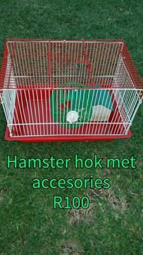 Hamster hok met goedere