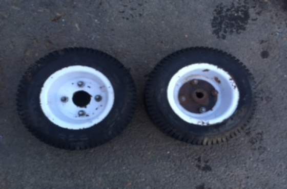 Lawn Mower Quad Go Kart Tyre And Rims Junk Mail