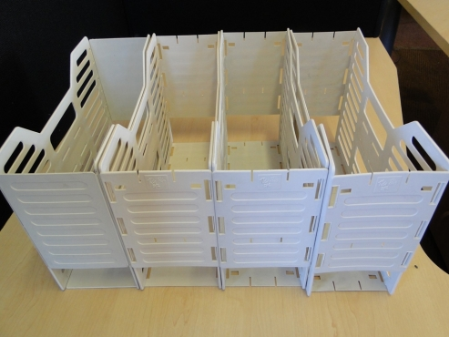 Plastic Optiplan Filling Boxes for A4 Files for-sale at R15 each