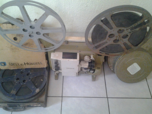 Rare vintage 1969 hokusin Canary sound projector 16mm | Junk