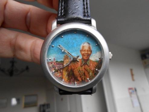 Mandela wristwatch