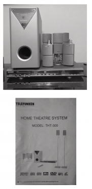 Home theatre Telefunken THT 300 surround sound