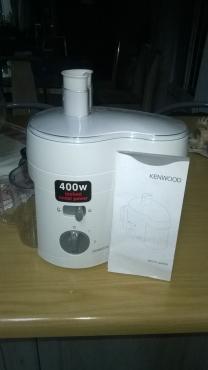 Kenwood Juice Extractor