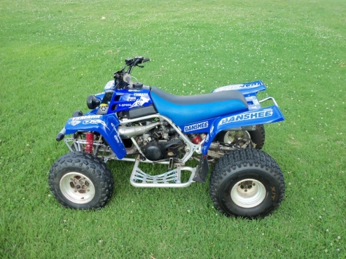 2003 Yamaha Banshee RD 350 twin with Trailer
