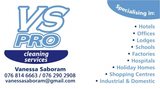 Vs Pro Cleaning, Painting and Delivery Services (Pty) Ltd