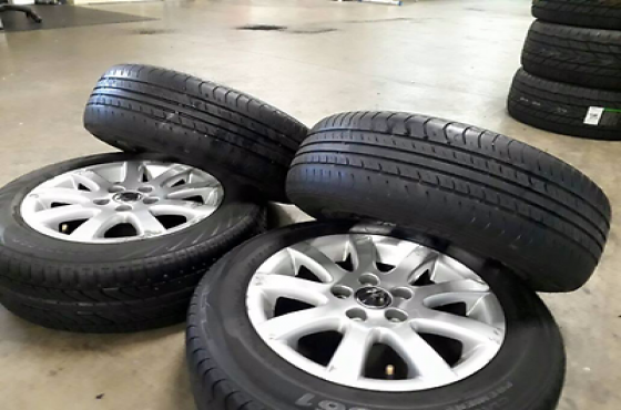 VW Mags and Dunlop Tyres for Sale