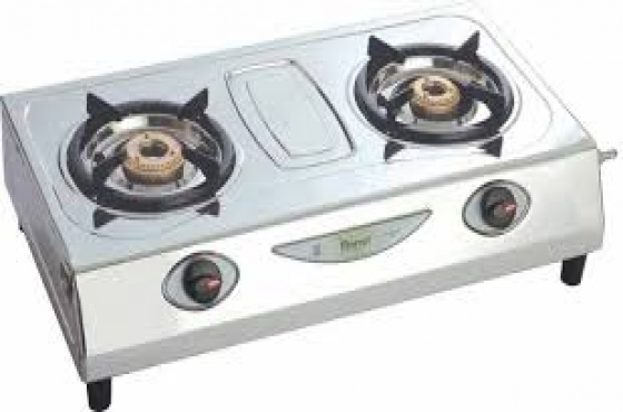 2 PLATE GAS BURNER - With Ignition