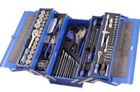Toolbox with Tools 85 pc