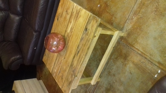 Sealed Pallet Wood Coffee Table